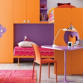 colored child bedroom